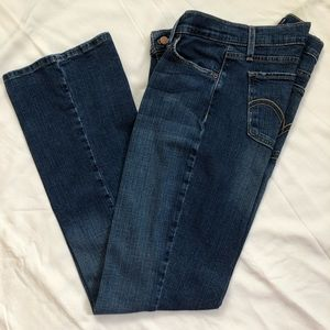 Women's Levi 524 super low jeans size 13M